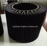 En aluminium/aluminium extrudé anodisé de couleur 6063 Profil d'alliage