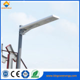 18W luz LED de la calle solar integrada China Proveedor