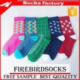 China-komprimierende Sport-Mann-bunte Socken für Männer