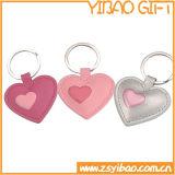 La promotion des dons trousseau de clés en cuir avec logo timbre (YB-LK-12)