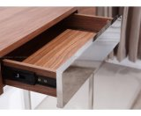 Tableau de console lustré en bois de type moderne
