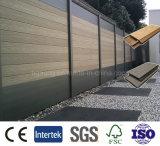 Prancha plástica de madeira ao ar livre exterior do composto do PE do painel de parede de WPC