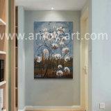 Campo de algodão artesanal pinturas a óleo American Farm Galpão de arte para a decoração de paredes