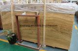 Amarelo laje de mármore piso de madeira /revestimento de paredes