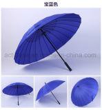 똑바로 방수 방풍 자동차 열려있는 형식 24K 선전용 우산 선물 제조자