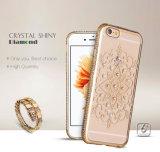 Het Geval van de Telefoon van de Aansteker TPU met Diamant voor iPhone