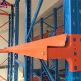 De Aandrijving van de Vorkheftruck van het Rek van de Pallet van de Opslag van het pakhuis in het Rekken van de Koude Opslag van het Staal van het Gebruik van de Diepvriezer Q345