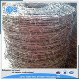 Hot Salts 12 Gauge Galvanized Barbed Wire Fence