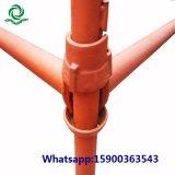 L'échafaudage Cuplock Comptabilité standard en acier