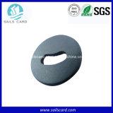 24mm de diâmetro de lavagem de RFID Lavandaria Tag com Chip Passtive