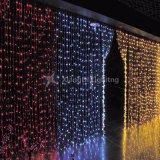 Супер качества многоцветные мерцание звезд светодиодный занавес фонари