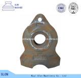 Le défibreur automatique de manganèse de rive élevée d'acier partie le marteau de broyeur