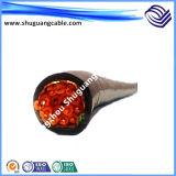 Устойчивость к высокой температуре кремния резиновой изоляцией и оболочку кабеля