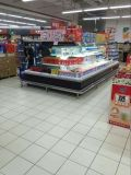 Novo Produto Refrigerador Multideck Círculo aberto do refrigerador de Merchandise de exibição