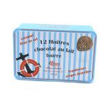 多彩な印刷された金属の錫空チョコレートボックス