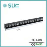 Indicatore luminoso esterno della rondella della parete del LED