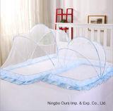 Fornitore cinese portatile quadrato addormentato della rete di zanzara del bambino del poliestere
