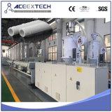 Machine en plastique de pipe d'approvisionnement en eau de la pipe Machine/PE de HDPE