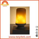 Comercio al por mayor efecto de llama LED Lámpara de fuego E26 llama vacilante lámpara decorativa simulado de luz LED de Navidad