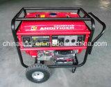 Gerador portátil da gasolina de YAMAHA 5kw com mão e rodas