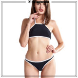 Deux morceaux Yong Fille de l'été Femmes maillot de bain Vêtements de plage Bikini