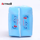 L'anion serviette hygiénique// tampon sanitaire des serviettes hygiéniques