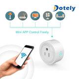 Mini compatible Wi-Fi Points de vente Smart plug fonctionne avec Amazon Ifttt Alexa et Google