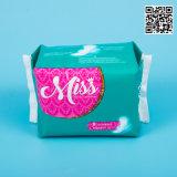 Coton jetables haute qualité des serviettes hygiéniques pur coton, les serviettes hygiéniques avec des prix bon marché