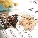 Бабочки ювелирных изделий золота фабрики серьга имитационной шикарная для повелительниц женщин