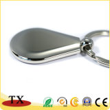 Différentes formes de haute qualité de l'alliage de zinc métal faite de la chaîne de clé