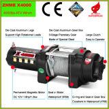 treuil électrique de corde en acier de 12V 4WD 4000lbs pour ATV/UTV