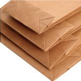 Бумажный мешок руки для печатание и размера клиента