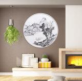 [ليغت كلور] [لندسكب] جدار فنية زيت نوع خيش صورة زيتيّة صورة لأنّ زخرفة بيضيّة