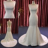 Высокое качество Русалки Satin валика клея вечер устраивающих платье свадебные платья