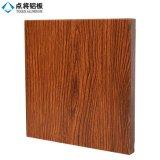 Лист деревянного покрытия порошка серии алюминиевый для здания фасада