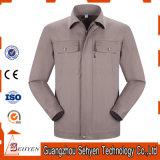 Disegno delle uniformi della stazione di servizio degli indumenti da lavoro ESD di cotone