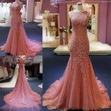 Мода высокого класса Русалки кружева долго Платье вечернее платье