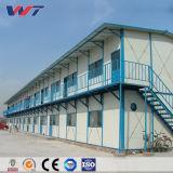 Prefabricados de estructura de acero de bajo costo de la construcción de la cabina portátil Taller Casa prefabricados