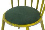 다른 색깔 색칠을%s 가진 금속 의자를 밖으로 속을 비게 하십시오