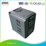 Sako 230V 모터 속도 제어를 위한 삼상 입력 1.5kw 2HP VFD 변하기 쉬운 주파수 드라이브 변환장치