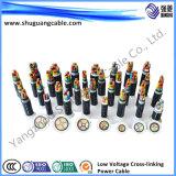 Низкий дым/низко обшитое Halogen/PVC Insulated/PVC/кабель компьютера
