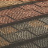 Tuiles de toit enduites en métal de pierre chaude de vente du Kenya