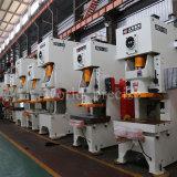 Jh21 presse mécanique unique de type C de la manivelle 25 tonne avec embrayage pneumatique