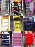 Supermarkt-Bildschirmanzeige-Regal-Doppeltes versah Feuergebührenzahnstange mit Seiten