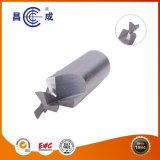 Fabricante de alta precisión HRC45/55/60/ 3 Flautas Molino de final de carburo sólido utilizado en torno CNC para corte de alta velocidad disponible personalizado