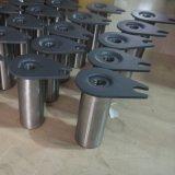 金属の鋳造は機械で造られた部品を溶接した