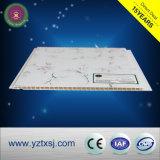 大理石デザインPVC天井は5950mmの長さをタイルを張る