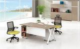 L 모양 현대 간단한 사무실 목제 가구 Excutive 사무실 책상 (BL-JYD18A)