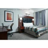 アメリカの暗い色の予算のホテルの寝室セットの家具(ST0078)