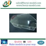 CNC обрабатывающий автомобильная лампа покрытия запасных частей для быстрого прототипа